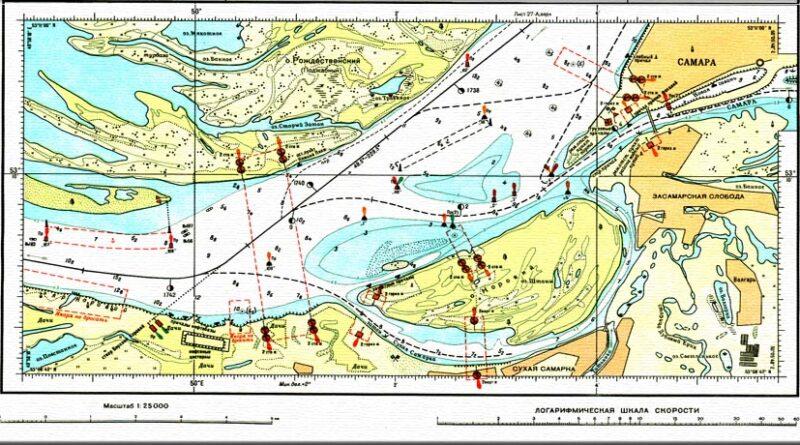 Речная лоция Волги и Камы