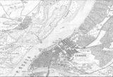 Карта Самарского уезда Самарской губернии 1924-1926 год.