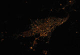 Карта ночной светимости Самары