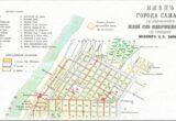 План города Самары с указанием  полной сети водопроводных труб  по проекту инженера Н. П. Зимина
